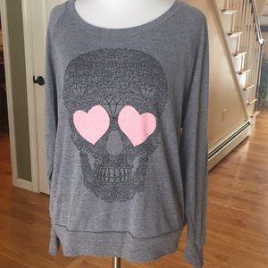 American Apparel Skull sweatshirt